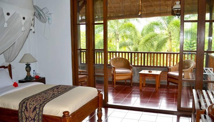 Bunga Permai Hotel Bali - Tampilan Kamar Twin