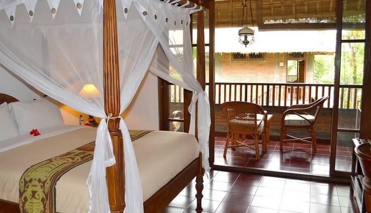 Bunga Permai Hotel Bali - Tampilan Kamar Double