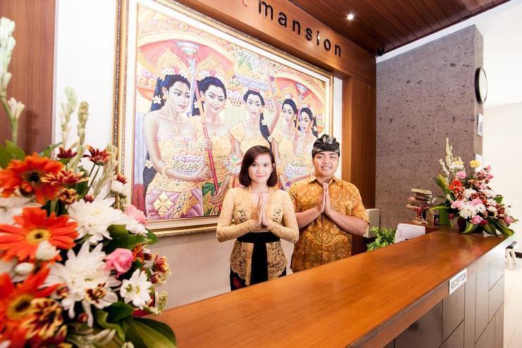 Sunset Mansion Bali - lobby