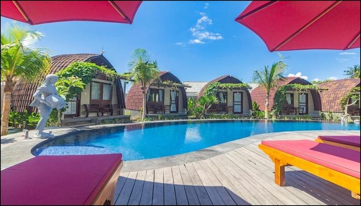 Papa Sun Villas  Bali - pool