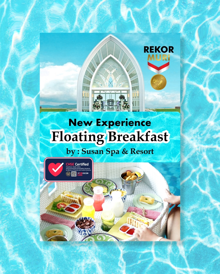 Susan Spa & Resort Semarang - Floating breakfast