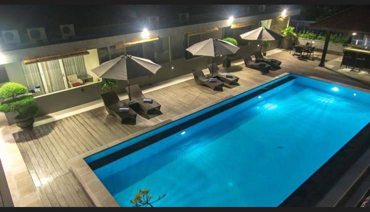Seminyak Square Hotel Bali - Pool