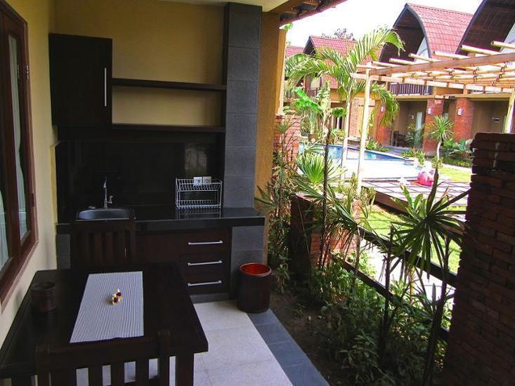 The Janan Villa Bali - Balcony