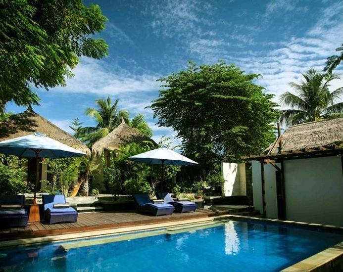 Alamat Review Hotel Bale Sampan Bungalows - Lombok