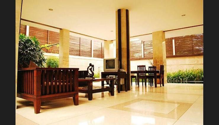 The Amasya Villas Bali - Lobby Sitting Area