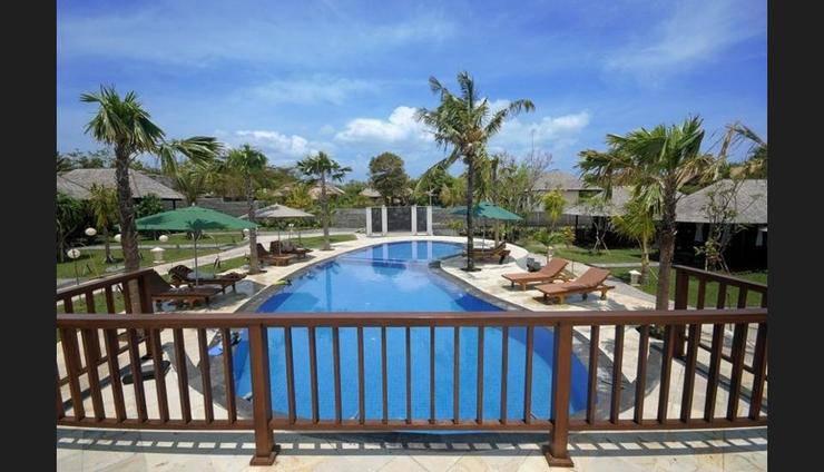 Aman Gati Hotel Balangan Bali - Outdoor Pool