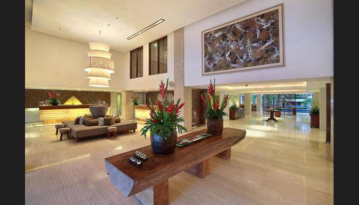The Magani Hotel and Spa Bali - Interior Entrance