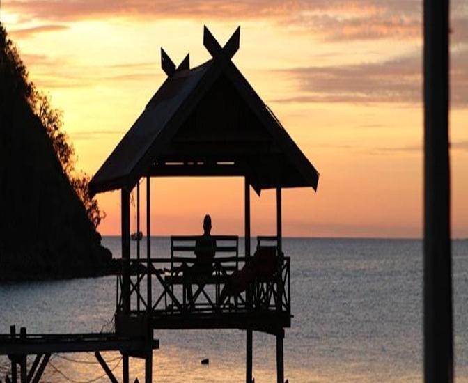 Waecicu Beach Inn Flores - Pemandangan