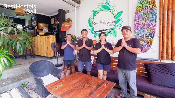 Bali Beats Guesthouse Bali - teras