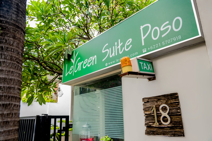 LeGreen Suite Poso Jakarta - exterior
