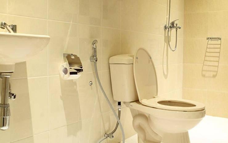 Hotel Pantes Semarang by IHM Semarang - toilet