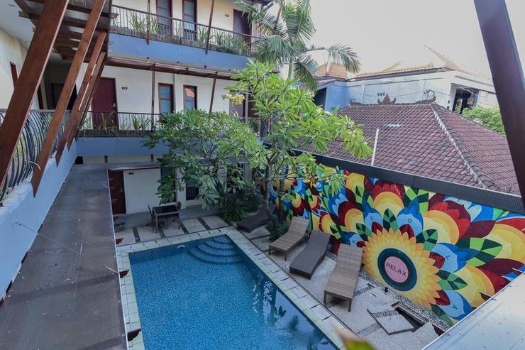 RedDoorz near Legian Street Bali - Kolam Renang