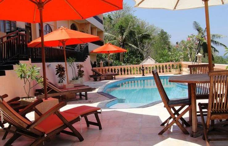 Sunset Lavinia Hotel Senggigi - Kolam Renang