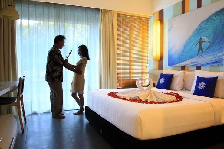 Bliss Surfer Thematic Hotel Bali - Kamar Pengantin