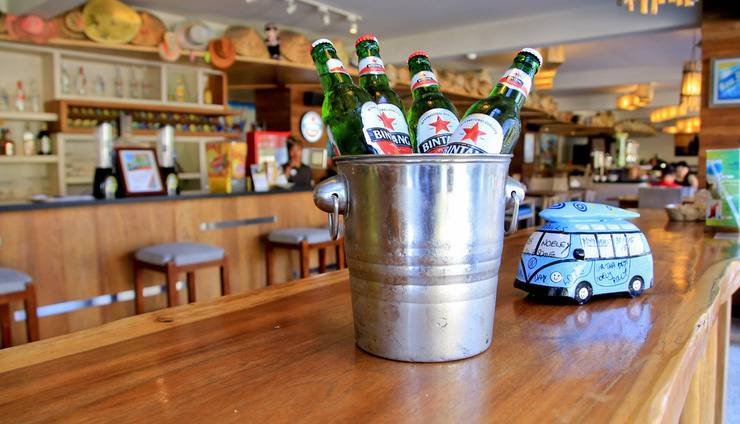 Bliss Surfer Thematic Hotel Bali - Bar