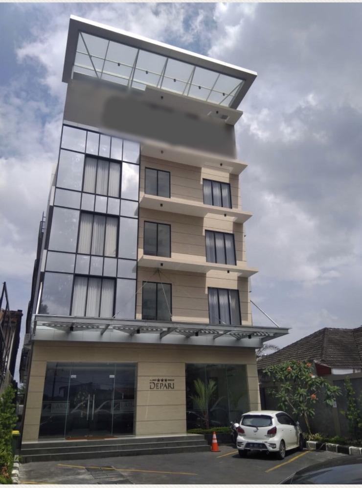Depari Hotel Medan - bangunan