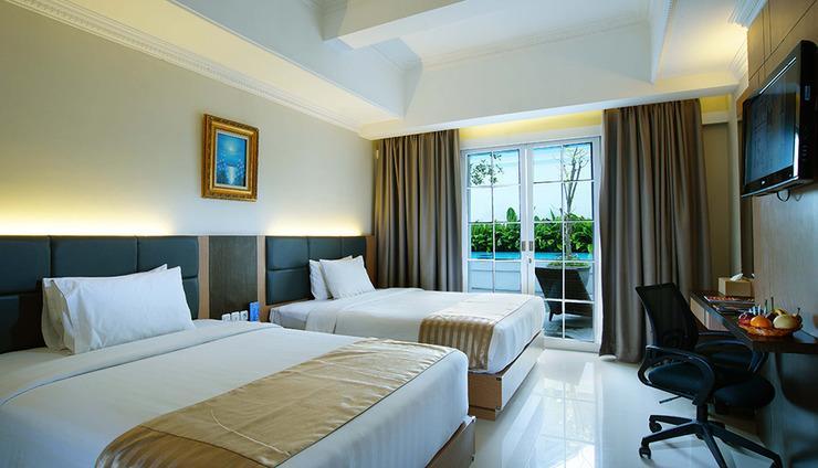 D'Senopati Malioboro Grand Hotel Yogyakarta - Deluxe Twin Bed