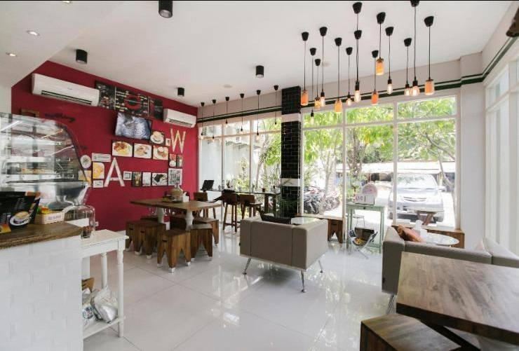 Rock Hotel Surabaya - Cafe