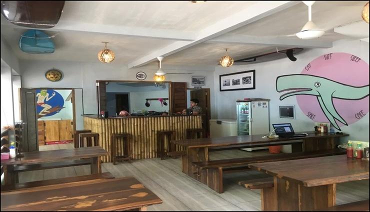 Salt Cafe Bed and Breakfast Pangandaran - interior