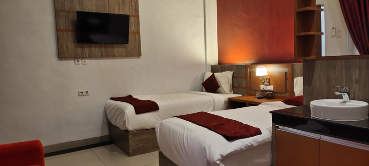 D&D Guest House & Cafe Syariah Medan - Bedroom