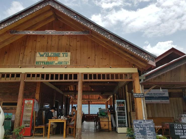 Orari View Restaurant & Homestay Danau Toba - Property building