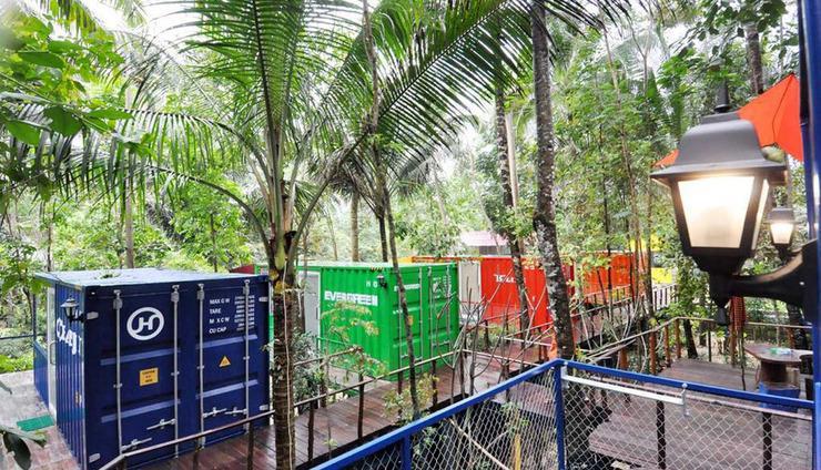 HAU Eco Lodges Citumang Pangandaran - Ruangan Kontainer