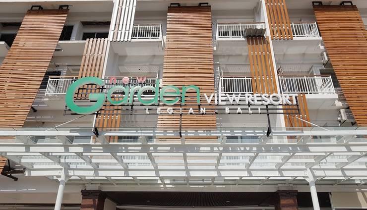 Garden View Legian - entrance new building