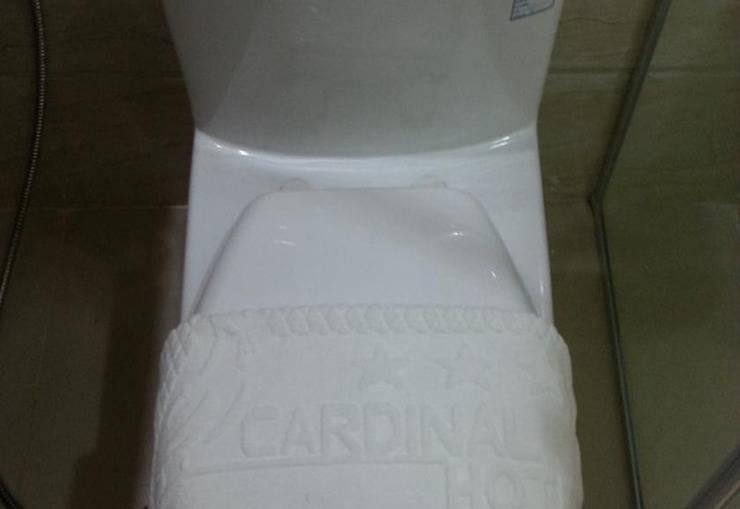 Cardinal Lucky Star Hotel Batam - Toilet