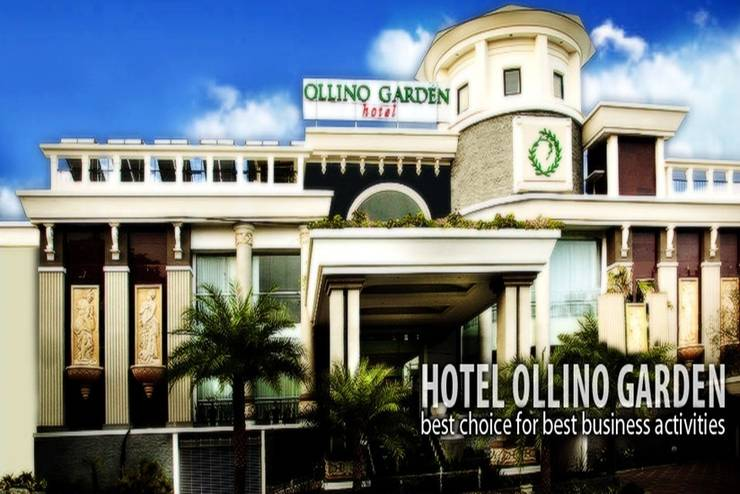 Ollino Garden Hotel Malang - Tampilan Luar Hotel