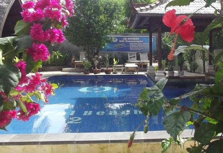 Coral Beach 2 Bungalow Lombok - Pool