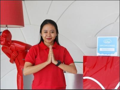 Airy Serpong Boulevard BSD Timur AH 2 Tangerang Selatan - Receptionist