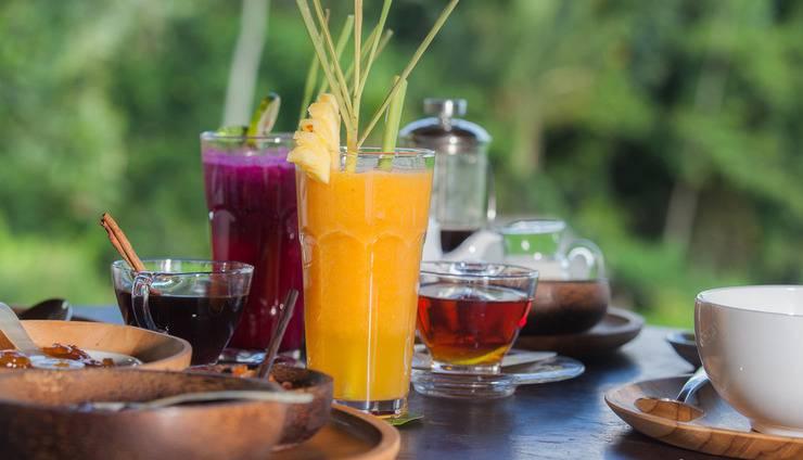 Villa Pelangi  Sidemen - Makanan dan Minuman
