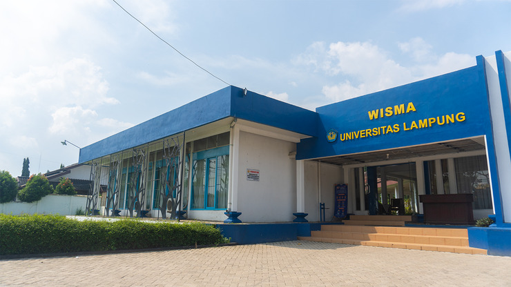 Wisma Unila Bandar Lampung - New Facade
