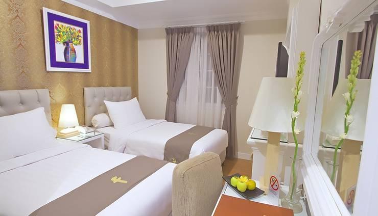 F Hotel Jakarta by Bencoolen - Standard Premiere Twin Bed