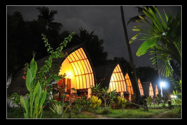 Mustika Ocean Lodge Lombok - View
