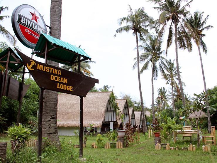 Mustika Ocean Lodge Lombok - Facade