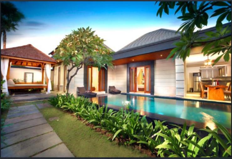 The Banyumas Suite Villa Legian Bali - Facade