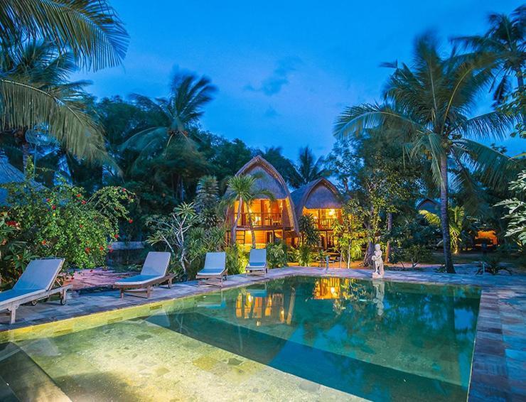 Sukanusa Luxury Huts Bali - Pool