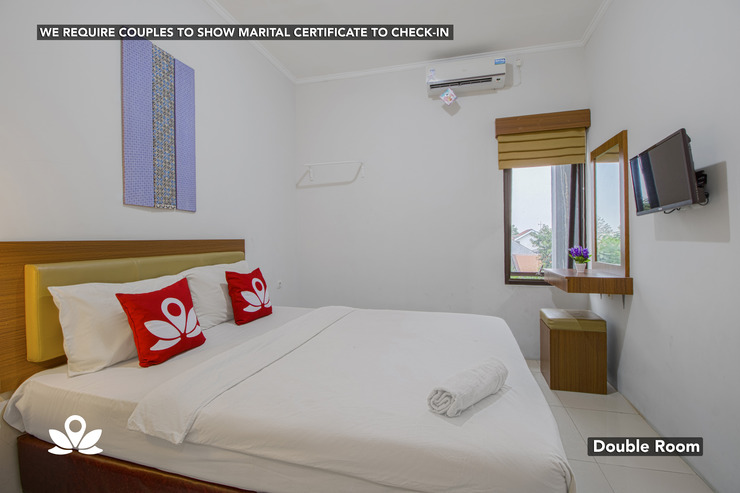 ZEN Rooms Uptown Residence Syariah Jakarta - Double Room