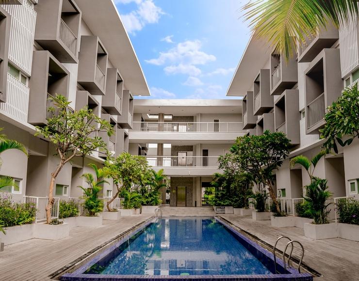 The Rooms Apartment Bali - Kolam Renang