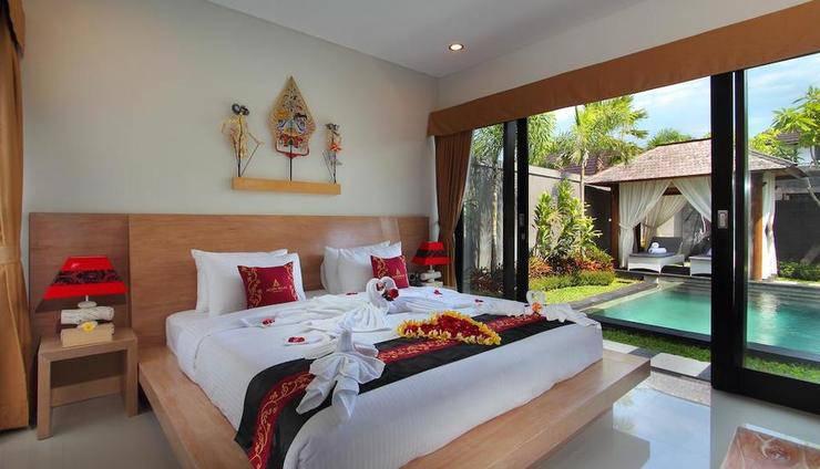 Agata Villas Bali - Tempat Tidur Double
