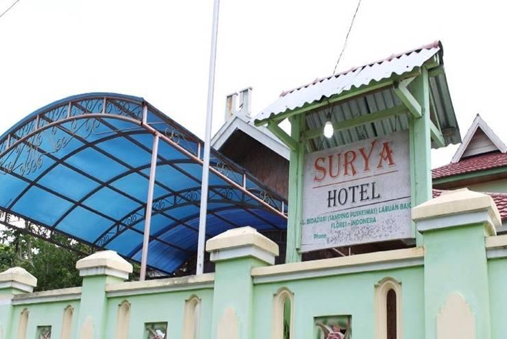 Surya Hotel Flores - Tampilan Luar Hotel