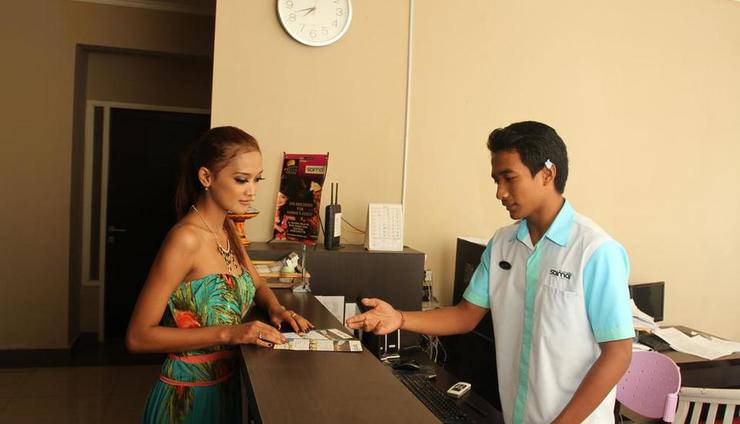 Saimai Residence Bali - Resepsionis