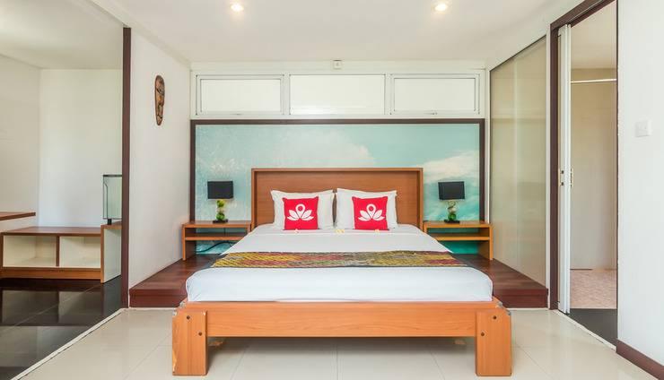 ZenRooms Umalas Klecung Villa - Tampak tempat tidur double