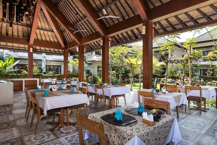 Radha Phala Resort & Spa Bali - Breakfast Area