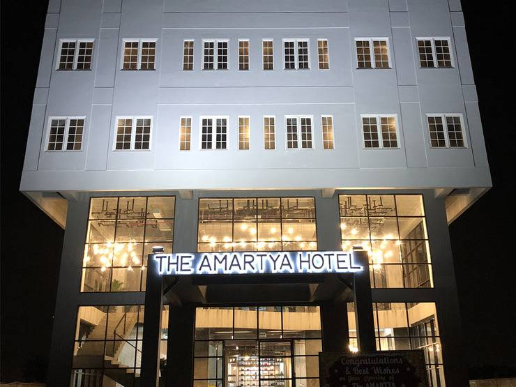 The Amartya Jogjakarta Hotel Yogyakarta - tampak depan