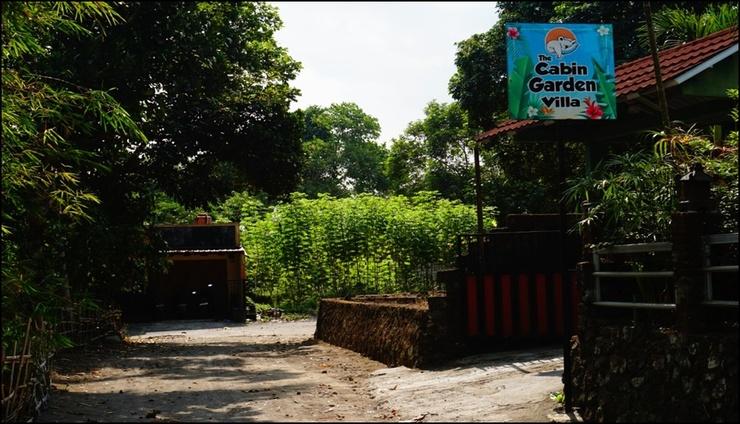 Cabin Villa Garden Yogyakarta - exterior
