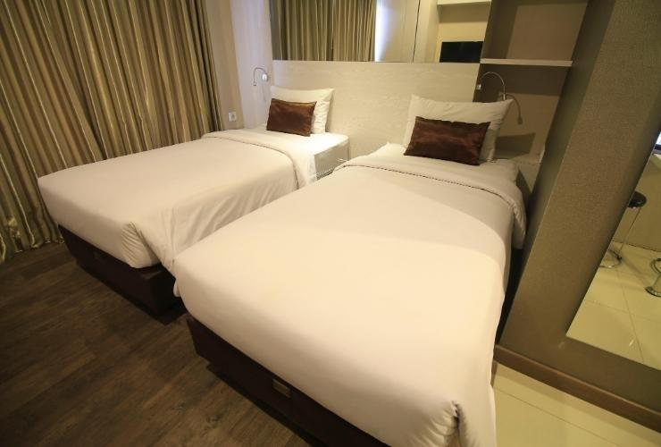 Student Park Hotel & Apartment Yogyakarta - Twin Room