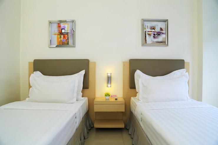 D Primahotel Medan - Twin bed