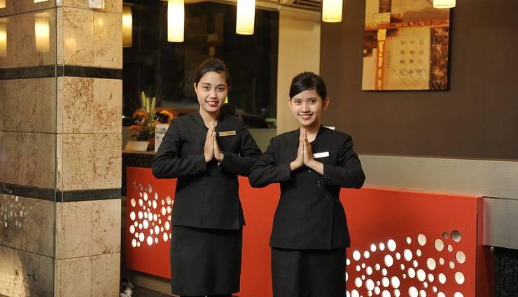 Hotel Anugerah Palembang - Resepsionis